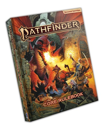 Pathfinder 2E: Core Rulebook (HC) [Damaged]