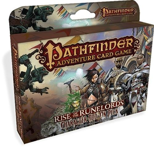 Pathfinder Adventure Card Game: Rise of the Runelords- Character Add-On Deck