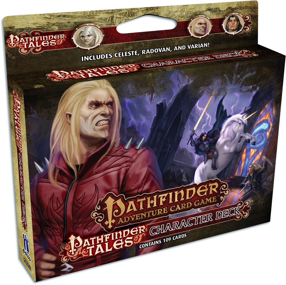 Pathfinder Adventure Card Game: Character Deck