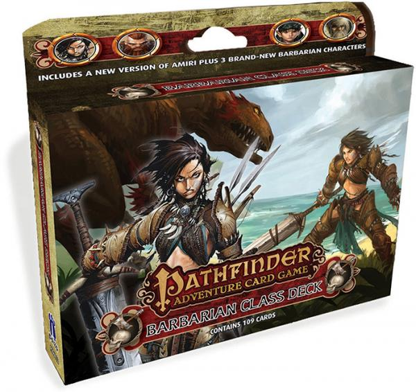 Pathfinder Adventure Card Game: Class Deck- Barbarian [SALE]