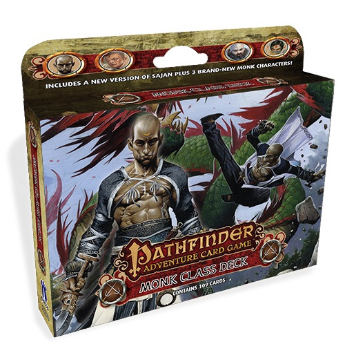 Pathfinder Adventure Card Game: Class Deck- Monk [SALE]