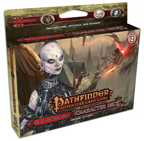Pathfinder Adventure Card Game: Hells Vengeance Character Deck 2