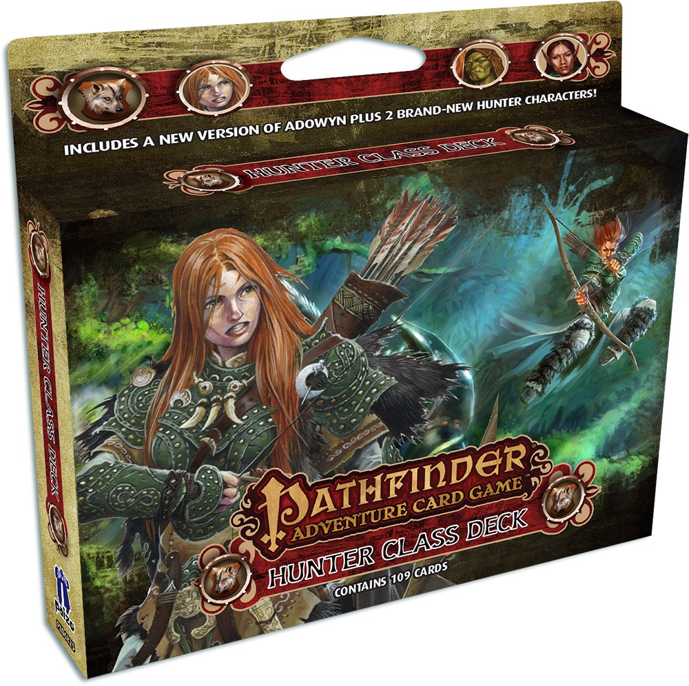 Pathfinder Adventure Card Game: Hunter Class Deck (SALE)