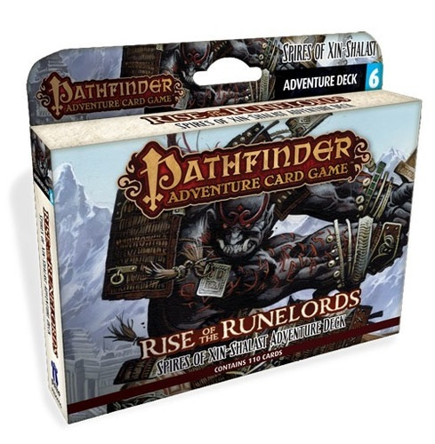 Pathfinder Adventure Card Game: Rise of the Runelords- Spires of Xin-Shalast