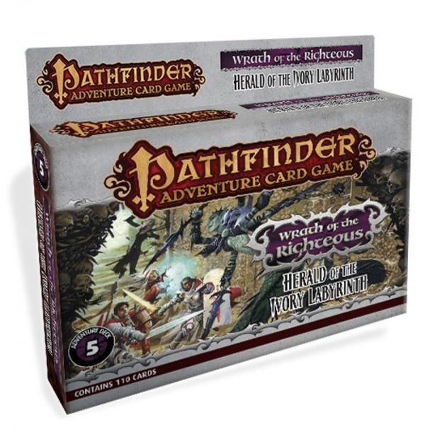 Pathfinder Adventure Card Game: Wrath of the Righteous 5- Herald of the Ivory Labyrinth [SALE]