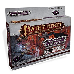 Pathfinder Adventure Card Game: Wrath of the Righteous 3-  Demon's Heresy [SALE]