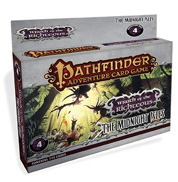 Pathfinder Adventure Card Game: Wrath of the Righteous 4-  The Midnight Isles [SALE]