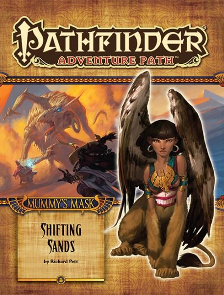 Pathfinder Adventure Path: Mummys Mask #3: Shifting Sands [SALE]