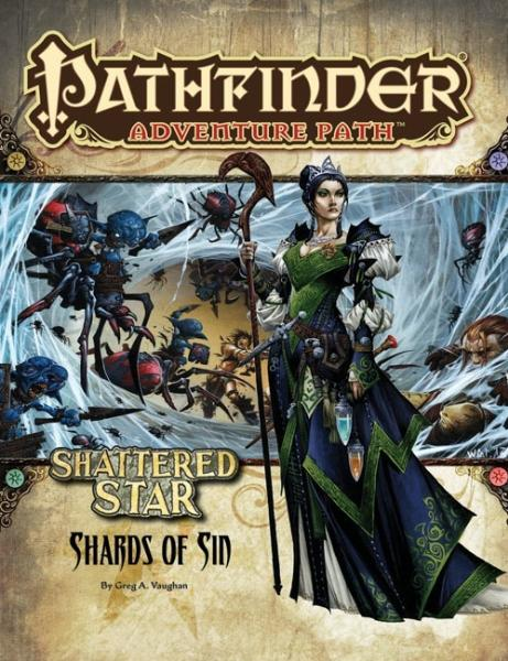 Paizo - Pathfinder Adventure Path: Shattered Star #1: Shards of Sin