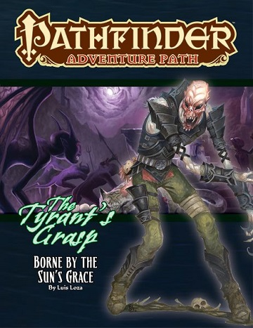 Paizo - Pathfinder Adventure Path: The Tyrant's Grasp 5- Borne by