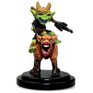 Pathfinder Battles: Rise of the Runelords- #021 Goblin Commando on Dog (U)