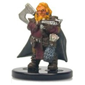 Pathfinder Battles: Rise of the Runelords- #025 Harsk, Dwarf Ranger (U)