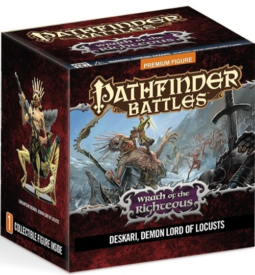Pathfinder Battles: Wrath Of The Righteous- Deskari, Demon Lord Of Locusts