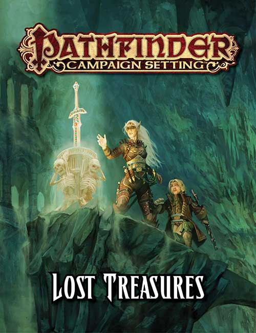 Pathfinder Campaign Setting: Lost Treasures [SALE]