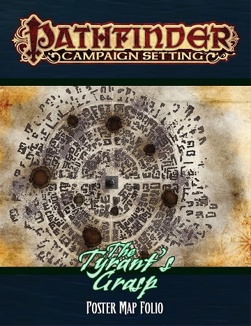 Pathfinder Campaign Setting: The Tyrants Grasp - Poster Map Folio