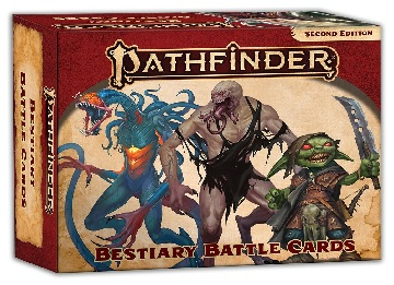 Pathfinder Cards 2E: Bestiary Battle Cards [Damaged]