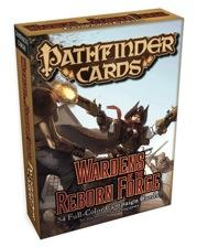 Pathfinder Cards: Wardens of the Reborn Forge Campaign Cards
