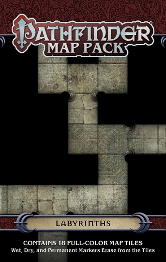Pathfinder Map Pack: Labyrinths
