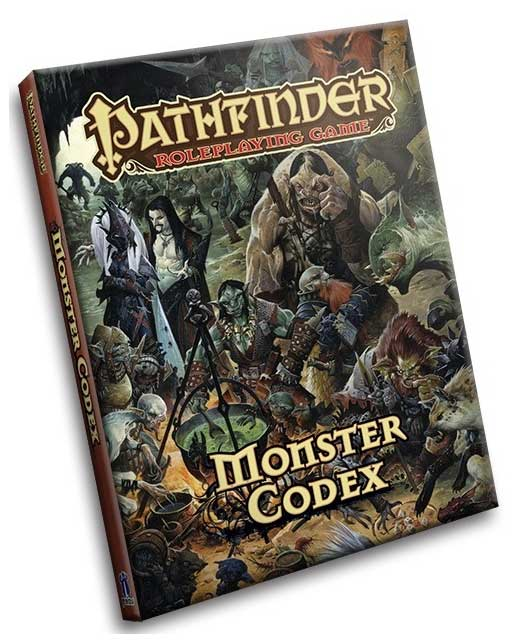 Pathfinder: Monster Codex Pocket Edition [Damaged]