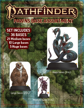 Pathfinder Pawns: Base Assortment (New Packaging)