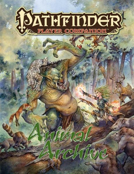 Pathfinder: Player Companion: Animal Archive