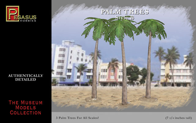 Pegasus Hobbies: Date Leaf Palm Trees Style B (3)