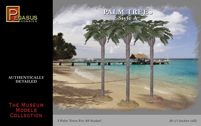 Pegasus Hobbies: Fan Palm Trees Style A (3)