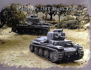 Pegasus Hobbies WWII 1/72: Pz. -38T Light Tank