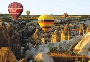 Perre Group Puzzles: Fairy Chimneys And Balloon