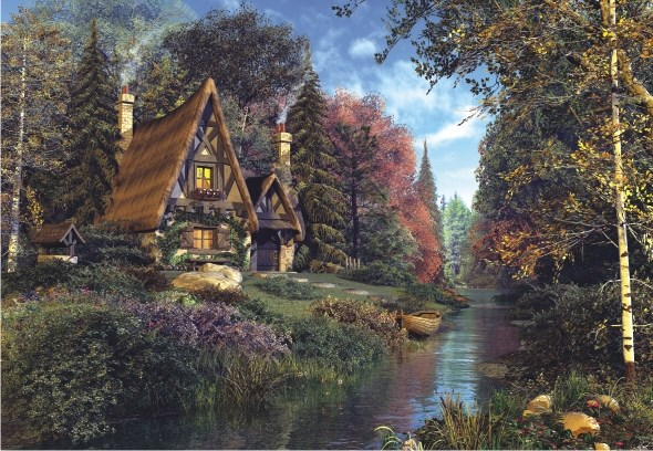 Perre Group Puzzles: Fairytale Cottage