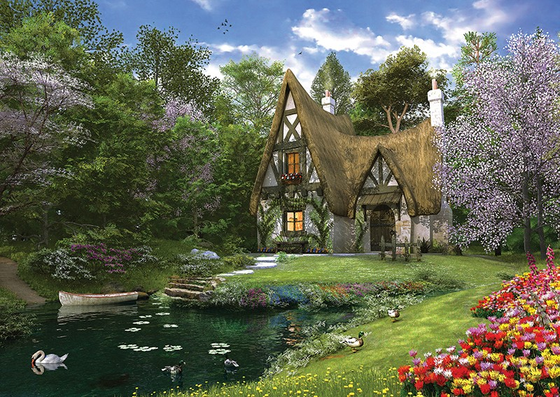 Perre Group Puzzles: Spring Lake Cottage