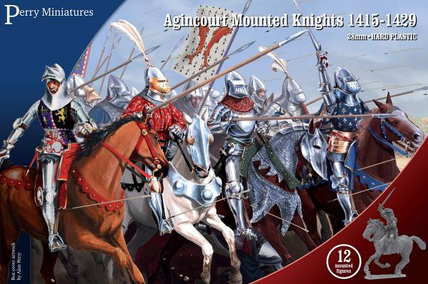 Perry: 28mm Agincourt to Orleans 1415-1429: Agincourt Mounted Knights