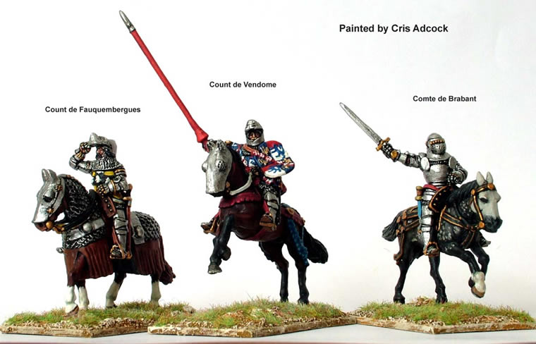 Perry: 28mm Agincourt to Orleans 1415-1429: French Mounted Command