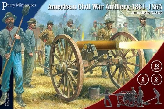 Perry: 28mm American Civil War: Artillery