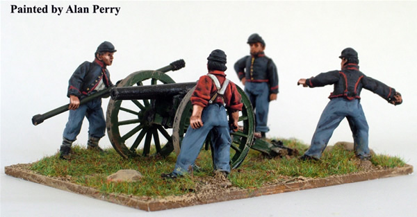 Perry: 28mm American Civil War: Union Artillery