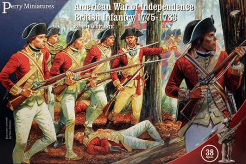 Perry: 28mm American War of Independence: British Infantry 1775-1783