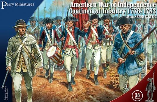 Perry: 28mm American War of Independence: Continental Infantry 1776-1783