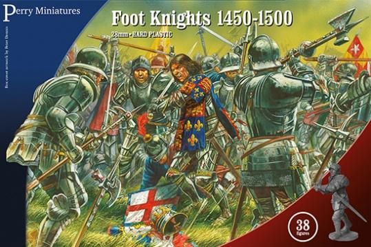 Perry: 28mm Historical: Foot Knights 1450-1500
