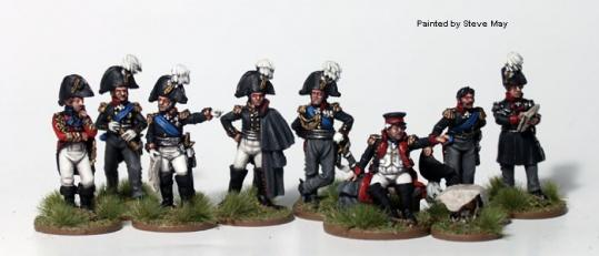 Perry: 28mm Historical: High Command on Foot 1812