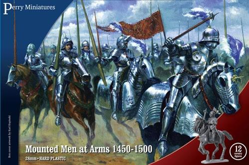 Perry: 28mm Historical: Mounted Men at Arms 1450-1500