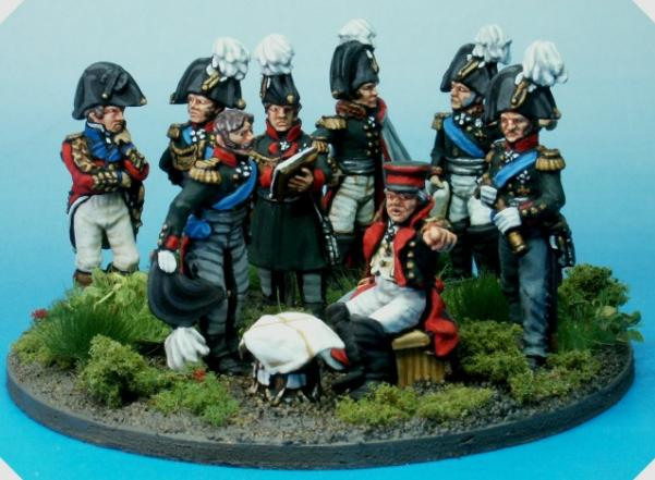 Perry: 28mm Napoleonic: Prussian High Command