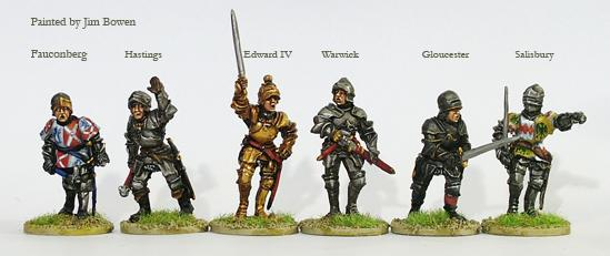 Perry: 28mm Wars of the Roses: (York) Command & Warwick (Foot)