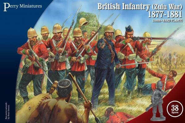Perry: 28mm Zulu War: British Infantry 1877-81