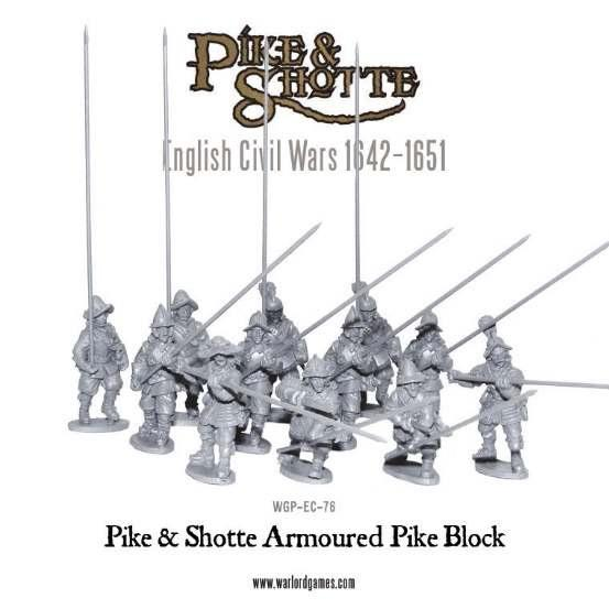 Pike & Shotte: English Civil Wars 1642-1651: Armoured Pike Block