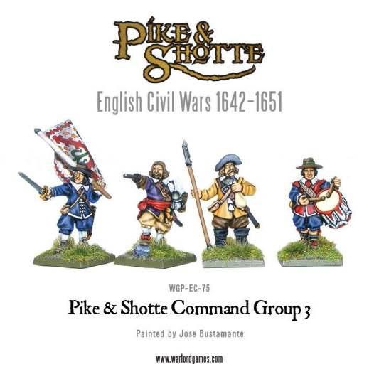 Pike & Shotte: English Civil Wars 1642-1651: Command Group 3