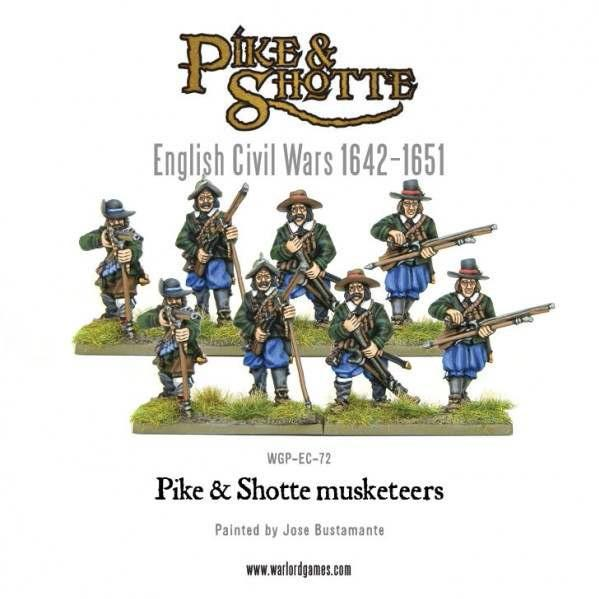 Pike & Shotte: English Civil Wars 1642-1651: Musketeers