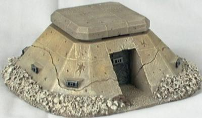 Miniature Building Authority: 28mm Sci-Fi: Pill Box Bunker