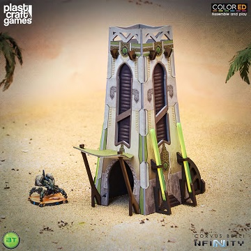 Plast Craft Games: Infinity COLORED: MeteoZon Cabin