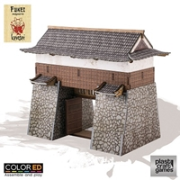 Plast Craft Games: Kensei ColorED: Castle Gate