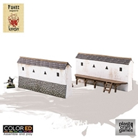 Plast Craft Games: Kensei ColorED: Castle Wall